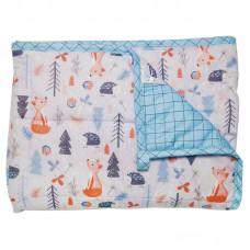 "Hugzz: Weighted Blanket 36"" x 48"" - 5lb Autumn Woods"