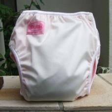 Bumwear: Training Pants - White Pink (Medium)