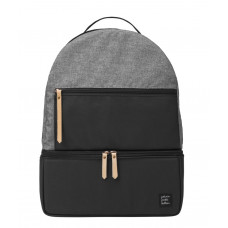 Petunia Pickle Bottom: Axis Backpack - Graphite/Black (Indonesia Only)
