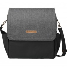Petunia Pickle Bottom: Boxy Backpack - Graphite/Black (Indonesia Only)