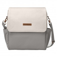 Petunia Pickle Bottom: Boxy Backpack - Birch/Stone (Indonesia Only)