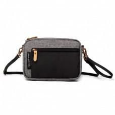 Petunia Pickle Bottom: Adventurer Belt Bag - Graphite/Black (Indonesia Only)