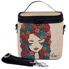 SoYoung Large Cooler Bag - Pixopop Roses Girl (For Indonesia Only)