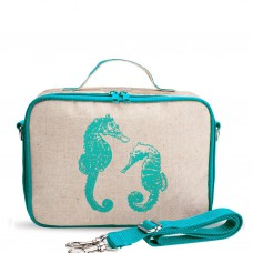 SoYoung LunchBox Bag - Aqua Seahorses (For Indonesia Only)