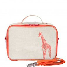 SoYoung LunchBox Bag - Neon Orange Giraffe (For Indonesia Only)