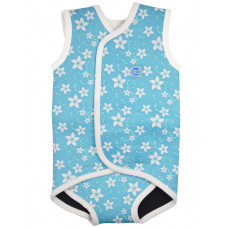 Splashabout: Babywrap Blue Blossoms - L 18-30mth (Indonesia Only)