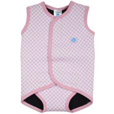 Splashabout: Babywrap Pink Gingham - M 6-18mth (Indonesia Only)