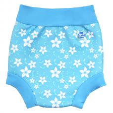 Splashabout: Happy Nappy Blue Blossom - M 3-6mth (Indonesia)