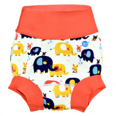 Splashabout: Happy Nappy Little Elephants - M 3-6mth (Indonesia Only)