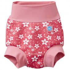 Splashabout: Happy Nappy Pink Blossom - M 3-6mth (Indonesia Only)