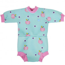 Splashabout: Happy Nappy Wetsuit Apple Daisy - M 3-8mth (Indonesia Only)