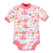 Splashabout: Happy Nappy Wetsuit Owl and the Pussy Cat - XL 12-24months (Indonesia Only)