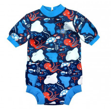 Splashabout: Happy Nappy Wetsuit Under the Sea - L 6-14mth (Indonesia Only)