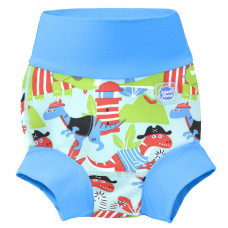 Splashabout: Happy Nappy Dino Pirates - L 6-12mth (Indonesia Only)