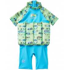 Splashabout: UV Float Suit in Green Gecko - 4-6yrs (Indonesia Only)